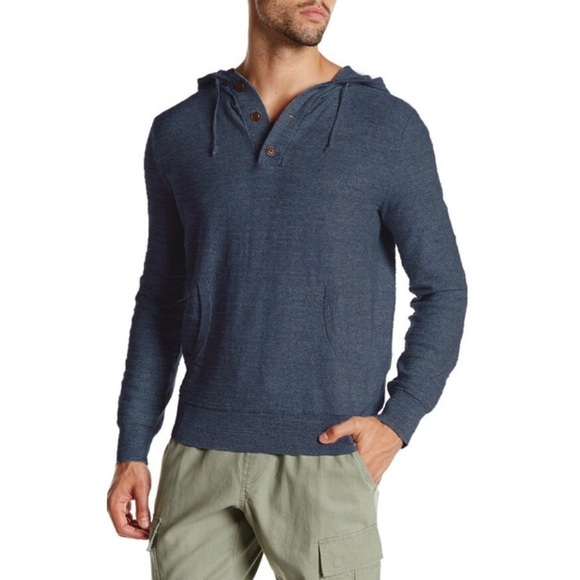 J. Crew Factory Other - J. Crew Factory Henley Knit Hoodie